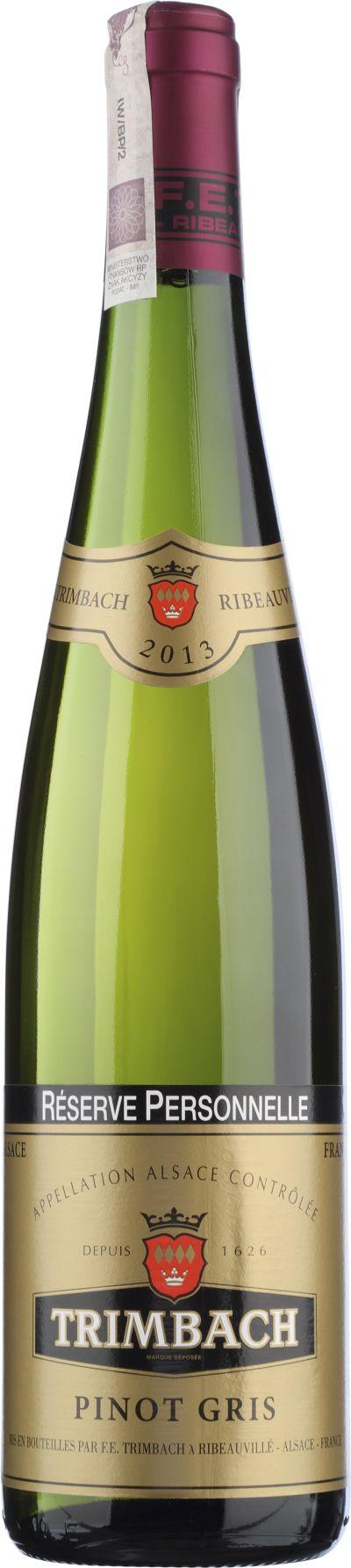 Pinot gris Réserve Personnelle